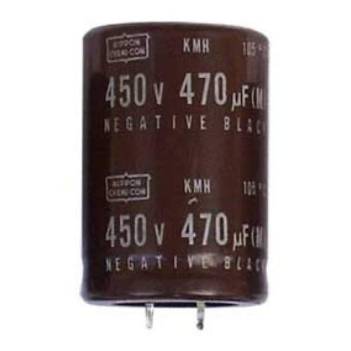 470uF 450V Nippon Chemi-con KMH Series electrolytic capacitor