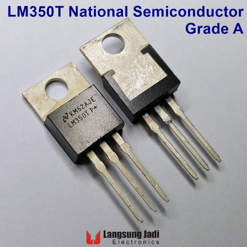 LM350 National Semiconductor, 3A positive voltage regulator (Grade A)