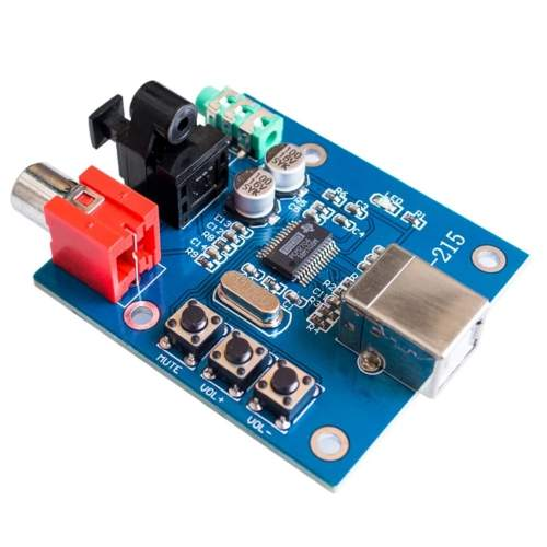 Kit PCM2704 USB DAC to S/PDIF and Headphone Amplifier