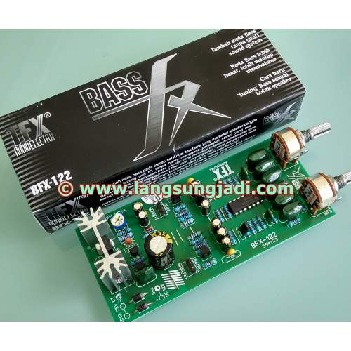 "Kit, ""BassFX"" New Bass Booster/Tuning TFX BFX-122"