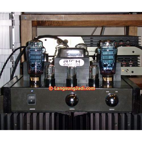 LJ 300B-6SN7 Single-ended Triode Amplifier m2005-07 (Inspired by Cary Audio)