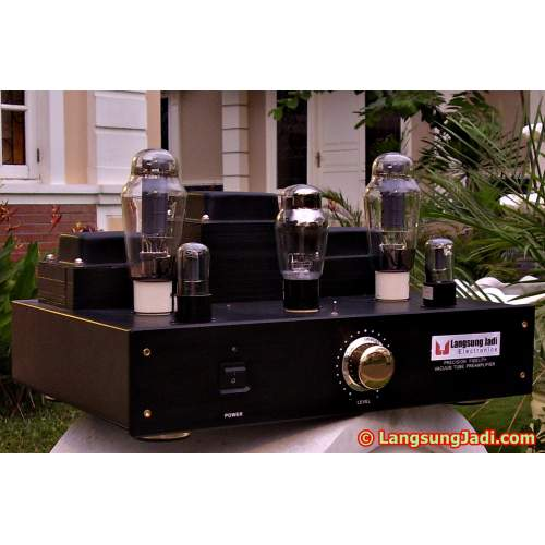 LJ 300B-6SN7 Single-ended Triode Amplifier m2007-08 (Inspired by AudioNote Quest)