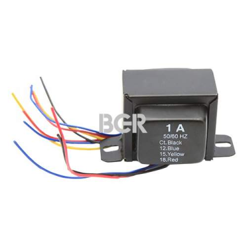 Bell power transformer 12V-15V-18V-CT 1A for preamp
