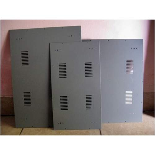 Plat besi powder coating 20x36 cm, each