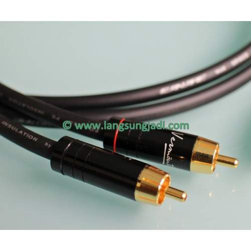LJ 3 RCA Interconnect Cable (gold-plated), pair 1m