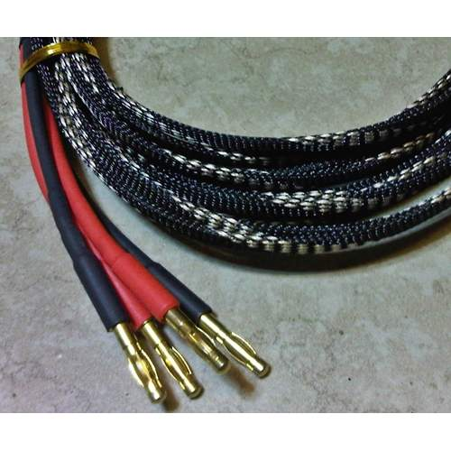 LJ 1L Loudspeaker Cable (gold banana), pair 2.5 m