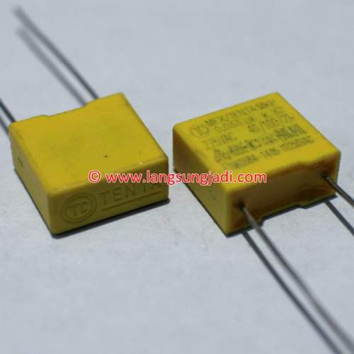 0.033uF (33nF) 275VAC X2 capacitor, each