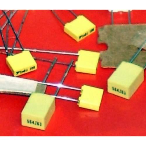 100nF (0.1uF, 104) 63V MKM capacitor, each