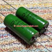 2.2uF 63V Russian-OTK polycarbonate capacitor, each