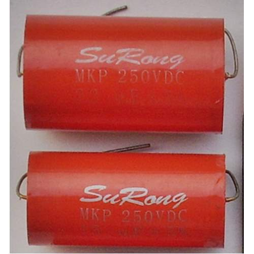 2.2uF 250VDC SuRong capacitor, each -SOLD