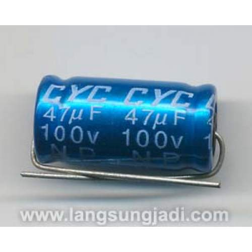 47uF 100V CYC BP/NP electrolytic capacitor