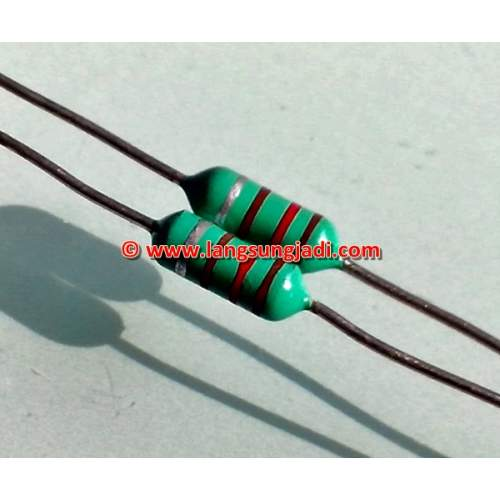 47uH color coded axial lead inductor, each