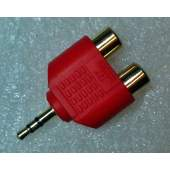 3.5mm Mini Jack to RCA Adapter, each