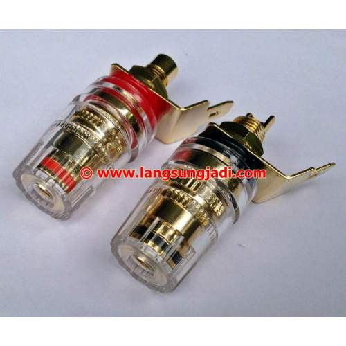 WBT style binding post speaker connector, pair