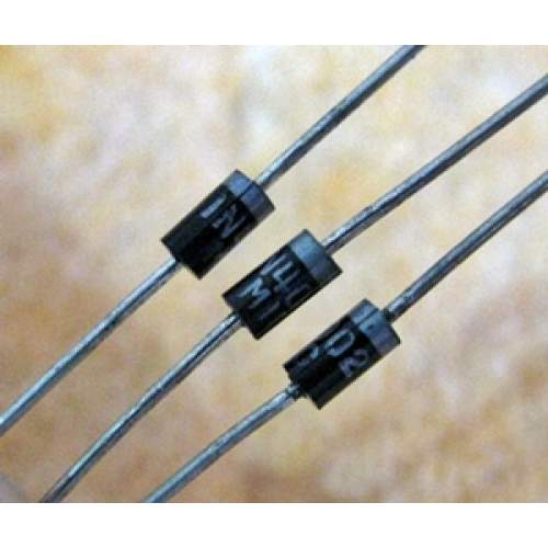 1N4002, 1A 100V silicon diode rectifier, each