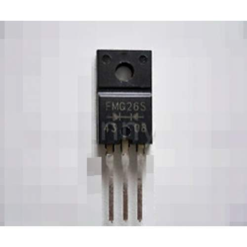 FMG26S, dual 6A 600V ultra-fast recovery rectifier diode, each