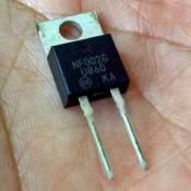 MUR860, 8A 600V ultra-fast rectifier, each