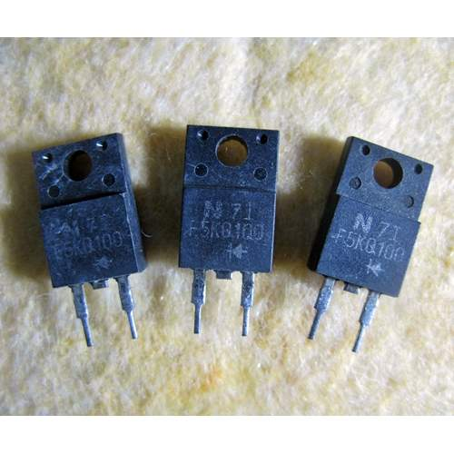 F5KQ100, 5.5A 100V schottky barrier rectifier diode