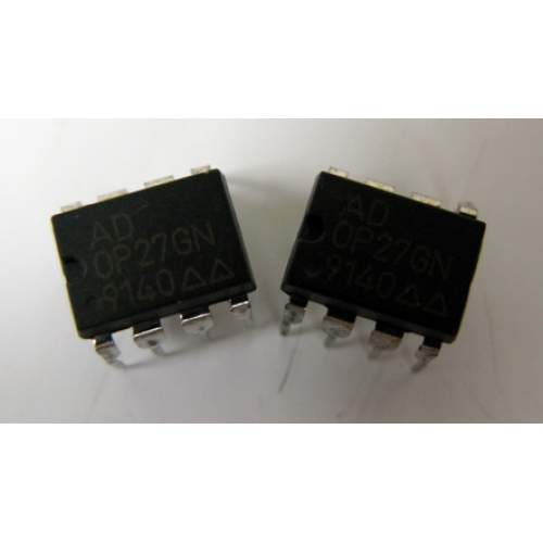 OP27GN Analog Devices, DIP very low noise single op-amp, each