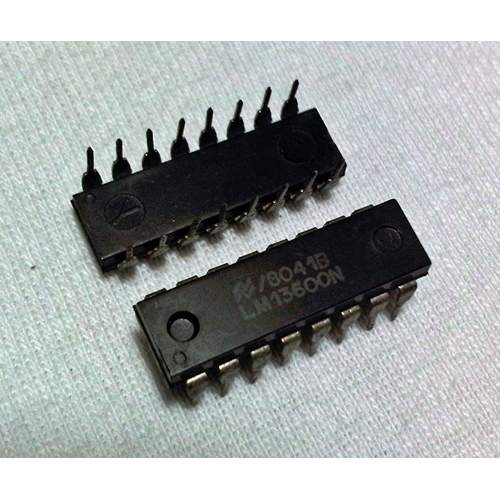 LM13600N, dual operational transconductance amp, each