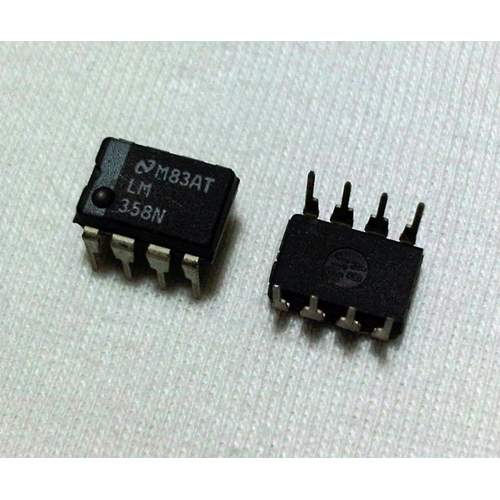 LM358N National Semiconductor dual op-amp, each