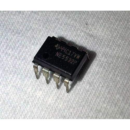 NE5532P Texas Instrument dual low-noise op-amp, each