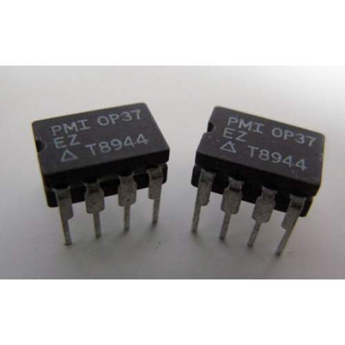 OP37EZ PMI, DIP ceramic layer-military spec, single op-amp, pair