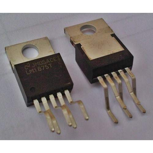 LM1875T, 20W audio power amplifier (original National Semiconductor)