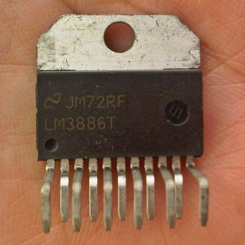 LM3886T 68W high-performance audio power amplifier (original National Semiconductor)