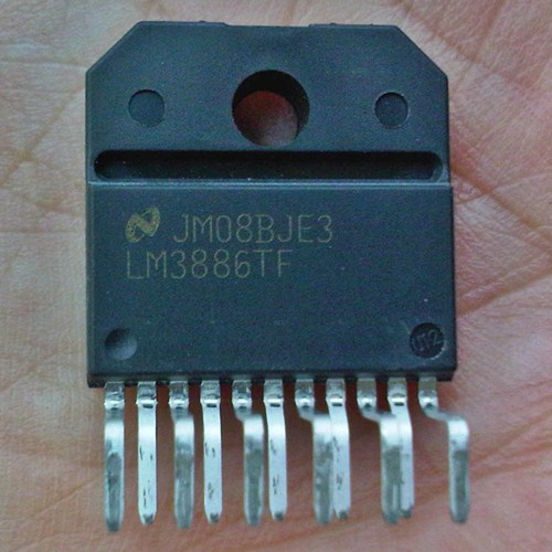 LM3886TF 68W high-performance audio power amplifier (original National Semiconductor)