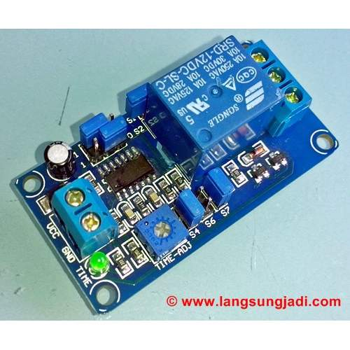 Kit, 12VDC Delay Relay Turn-On/Turn-Off, each