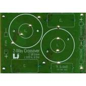 PCB, 2-Way Passive Cross-over, each