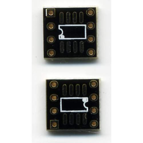 SMD2DIL 8-Pin Adapter PCB, each