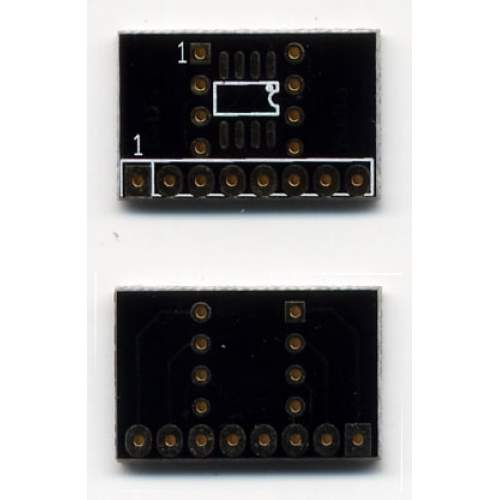 SMD2DIL2SIL 8-Pin Adapter PCB, each