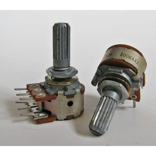 100KAx2 ALPS RK16 stereo potentiometer