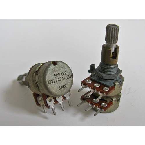 2xA50K ALPS potentiometer, each -SOLD-