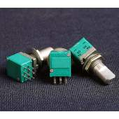 10KBx2 ALPS RK097 potentiometer + switch, each