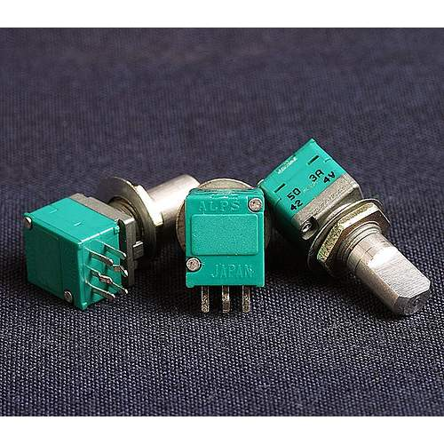 50KAx2 ALPS RK097 potentiometer (center click)
