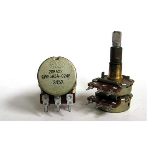 2xA20K ALPS potentiometer, each -SOLD