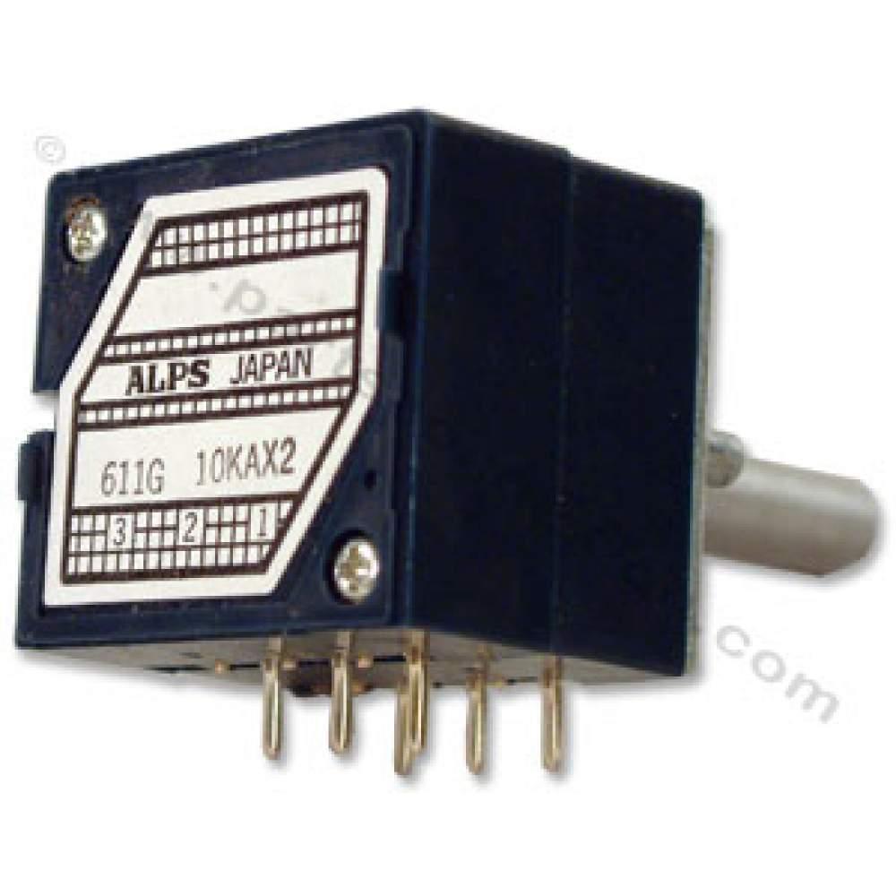 50kax2 Alps Rk27 Blue Velvet Potentiometer Clarostat Wiring