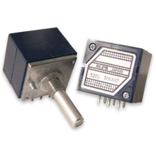 100KAx2 ALPS RK27 Blue Velvet potentiometer