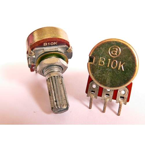 1xB10K potentiometer, each