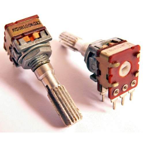 2xB100K potentiometer, each