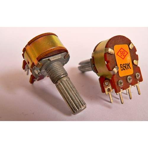 2xB50K potentiometer, each