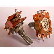 2xB100K-CT potentiometer, each