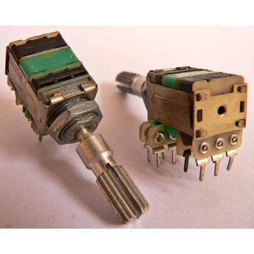 2xB50K-CT potentiometer, each