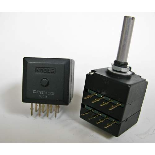 2xA250K Noble potentiometer, each -SOLD