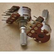 2xB100K Panasonic potentiometer, each