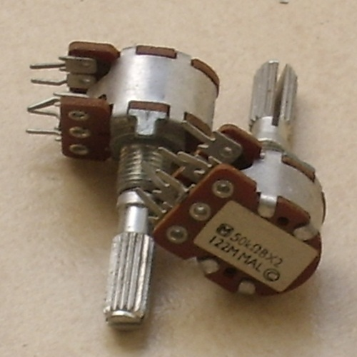 2xB50K Panasonic potentiometer, each -SOLD