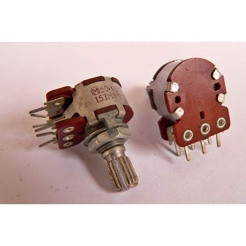 2xB50K Panasonic potentiometer, each